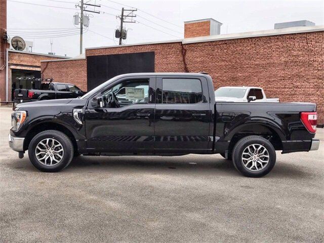 2021 Black Ford F-150 Lariat Automatic 4 Door Truck