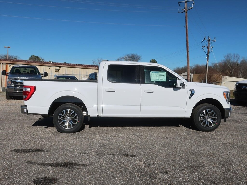 2021 Oxford White Ford F-150 Lariat Automatic Truck 2.7L V6 EcoBoost Engine 4 Door