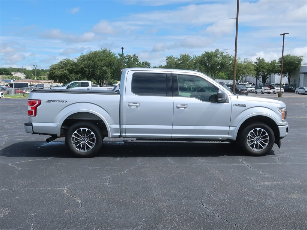 2019 Ford F-150 XLT Automatic Truck RWD Twin Turbo Regular Unleaded V-6 2.7 L/164 Engine