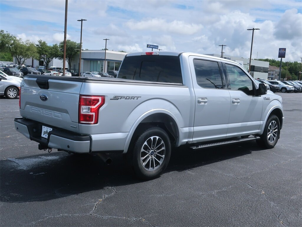 2019 Ingot Silver Ford F-150 XLT Truck 4 Door Automatic Twin Turbo Regular Unleaded V-6 2.7 L/164 Engine