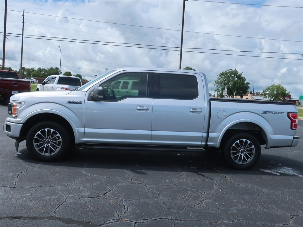 2019 Ford F-150 XLT Truck Automatic 4 Door RWD Twin Turbo Regular Unleaded V-6 2.7 L/164 Engine
