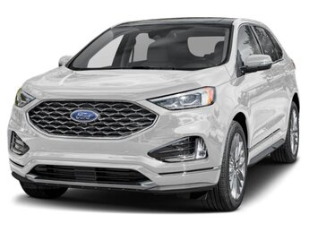 2021 Oxford White Ford Edge SE Automatic EcoBoost 2.0L I4 GTDi DOHC Turbocharged VCT Engine 4 Door FWD SUV