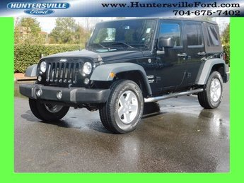 2014 Jeep Wrangler Unlimited Sport SUV 4X4 4 Door 3.6L V6 24V VVT Engine Automatic