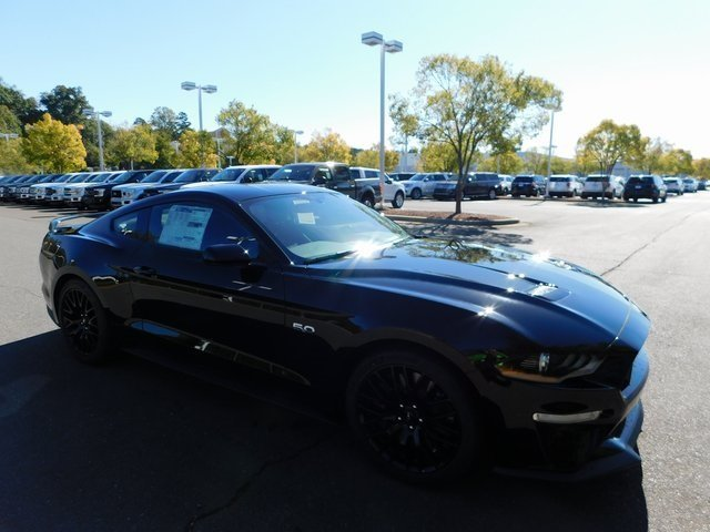 2019 Shadow Black Ford Mustang GT 2 Door 5.0L V8 Ti-VCT Engine Automatic Coupe RWD
