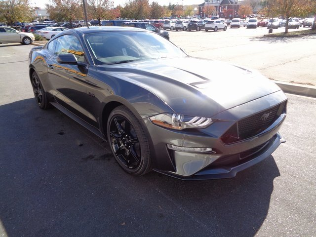 2019 Magnetic Metallic Ford Mustang GT Coupe RWD 5.0L V8 Ti-VCT Engine 2 Door