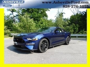 2018 Kona Blue Metallic Ford Mustang GT 5.0L V8 Ti-VCT Engine Coupe Automatic RWD