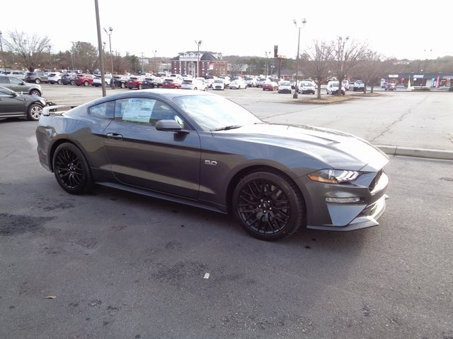 2019 Magnetic Metallic Ford Mustang GT Premium Coupe RWD 5.0L V8 Ti-VCT Engine Automatic 2 Door