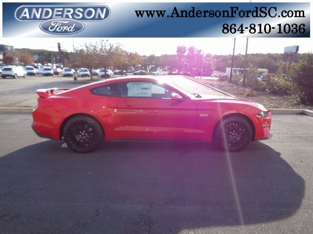 2019 Race Red Ford Mustang GT Manual 2 Door Coupe