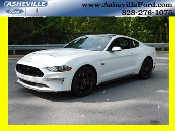 2019 Oxford White Ford Mustang GT Premium Coupe RWD 2 Door 5.0L V8 Ti-VCT Engine Manual