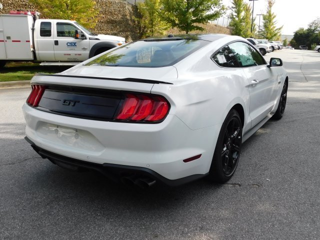 2019 Oxford White Ford Mustang GT Premium 2 Door 5.0L V8 Ti-VCT Engine Manual Coupe RWD