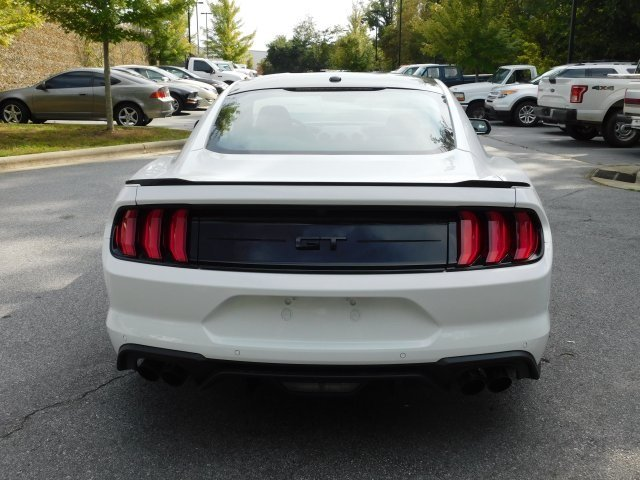 2019 Oxford White Ford Mustang GT Premium 2 Door 5.0L V8 Ti-VCT Engine Coupe