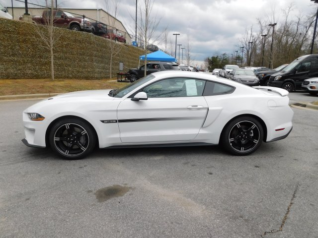 2019 Oxford White Ford Mustang GT Premium Coupe RWD 5.0L V8 Ti-VCT Engine