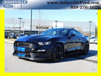 2018 Shadow Black Ford Mustang Shelby GT350 5.2L Ti-VCT V8 Engine RWD Coupe 2 Door
