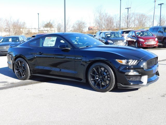 2018 Shadow Black Ford Mustang Shelby GT350 2 Door Coupe 5.2L Ti-VCT V8 Engine