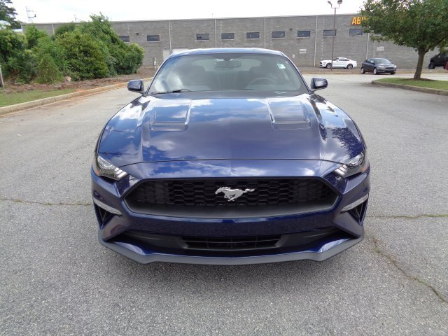 2018 Kona Blue Metallic Ford Mustang EcoBoost Automatic 2 Door Coupe RWD