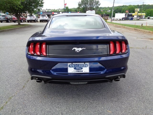 2018 Kona Blue Metallic Ford Mustang EcoBoost Automatic EcoBoost 2.3L I4 GTDi DOHC Turbocharged VCT Engine 2 Door Coupe