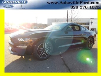 2019 Shadow Black Ford Mustang EcoBoost Premium 2 Door RWD Coupe Automatic EcoBoost 2.3L I4 GTDi DOHC Turbocharged VCT Engine