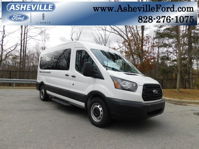 2019 Oxford White Ford Transit-350 XL 3 Door Van 3.7L V6 Ti-VCT 24V Engine RWD
