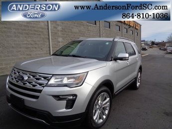 2019 Ingot Silver Metallic Ford Explorer XLT 4 Door 3.5L V6 Ti-VCT Engine Automatic