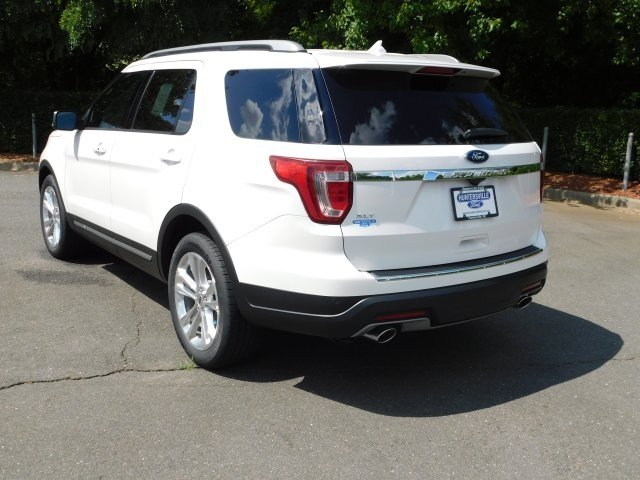 2018 Ford Explorer XLT FWD SUV 4 Door 3.5L V6 Ti-VCT Engine