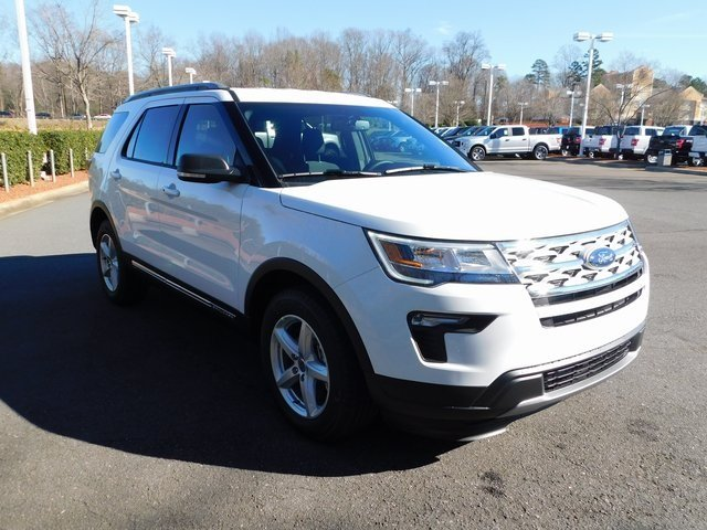 2019 Ford Explorer XLT SUV Automatic 4 Door 3.5L V6 Ti-VCT Engine FWD