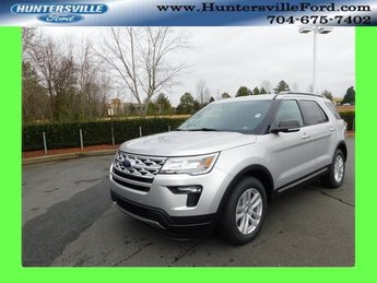 2019 Ingot Silver Metallic Ford Explorer XLT 4 Door SUV Automatic 3.5L V6 Ti-VCT Engine