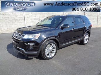 2019 Agate Black Metallic Ford Explorer Limited 3.5L V6 Ti-VCT Engine Automatic 4 Door