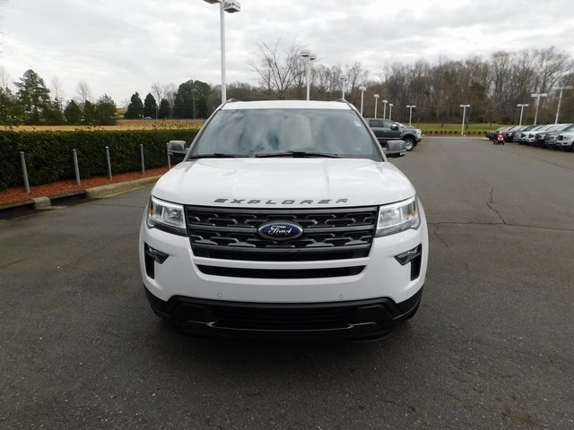 2019 Oxford White Ford Explorer XLT Automatic 4X4 4 Door 3.5L V6 Ti-VCT Engine SUV