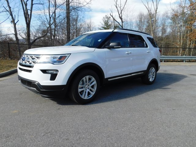 2019 Oxford White Ford Explorer XLT 4X4 SUV 4 Door 3.5L V6 Ti-VCT Engine Automatic