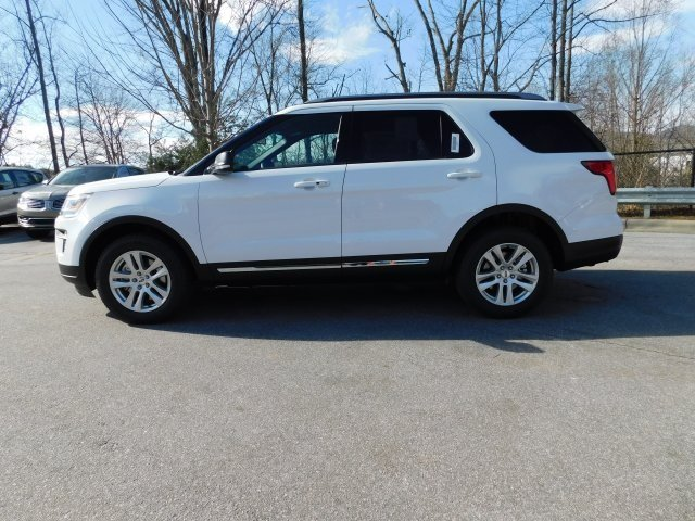 2019 Oxford White Ford Explorer XLT SUV 3.5L V6 Ti-VCT Engine 4 Door Automatic