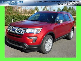2019 Ruby Red Metallic Tinted Clearcoat Ford Explorer XLT SUV 3.5L V6 Ti-VCT Engine 4X4 4 Door Automatic