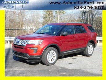 2019 Ruby Red Metallic Tinted Clearcoat Ford Explorer XLT Automatic SUV 4 Door