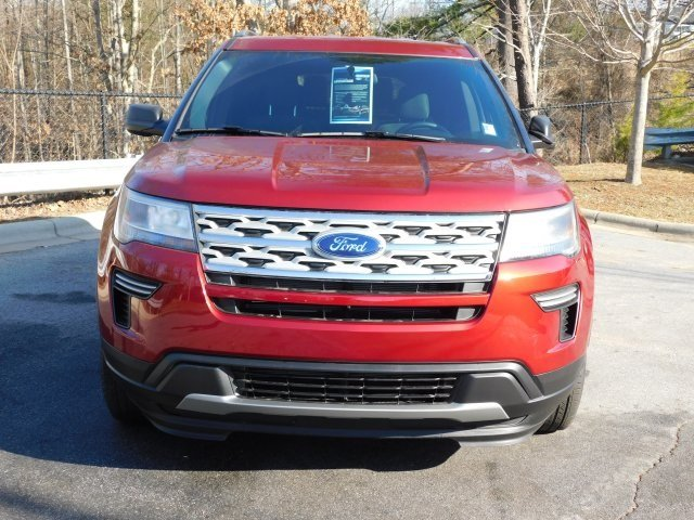 2019 Ruby Red Metallic Tinted Clearcoat Ford Explorer XLT 4 Door Automatic 3.5L V6 Ti-VCT Engine