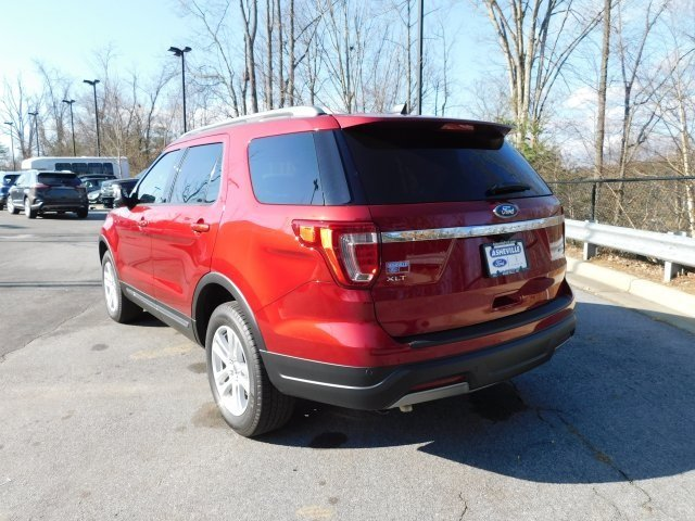 2019 Ruby Red Metallic Tinted Clearcoat Ford Explorer XLT 4 Door 4X4 SUV 3.5L V6 Ti-VCT Engine