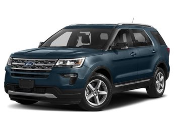 2019 Blue Metallic Ford Explorer Limited Automatic 3.5L V6 Ti-VCT Engine SUV 4 Door 4X4