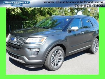 2018 Magnetic Metallic Ford Explorer Platinum SUV 4X4 Automatic 4 Door