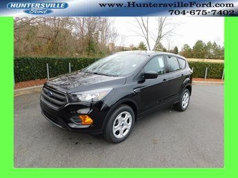 2019 Agate Black Metallic Ford Escape S 4 Door 2.5L iVCT Engine Automatic FWD