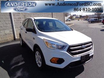 2017 Oxford White Ford Escape S SUV FWD Automatic 2.5L i-VCT Engine 4 Door