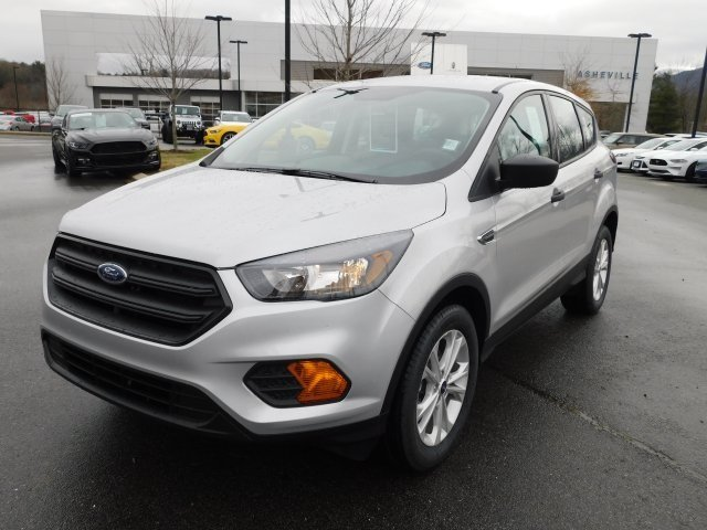 2019 Ingot Silver Metallic Ford Escape S SUV FWD 4 Door Automatic 2.5L iVCT Engine