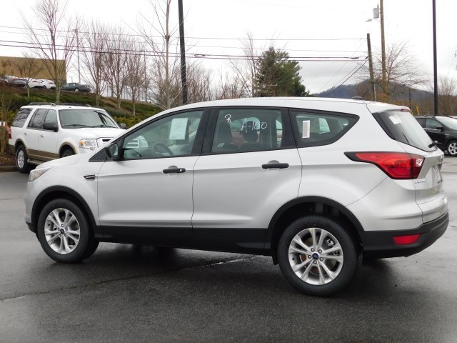 2019 Ingot Silver Metallic Ford Escape S 2.5L iVCT Engine 4 Door Automatic