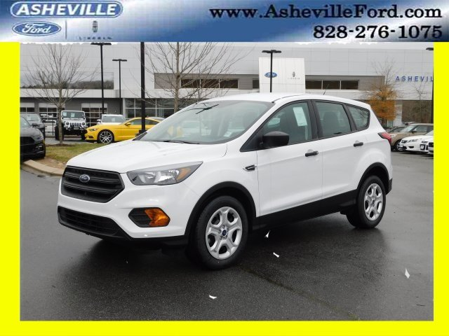 2019 Oxford White Ford Escape S FWD Automatic SUV 2.5L iVCT Engine 4 Door
