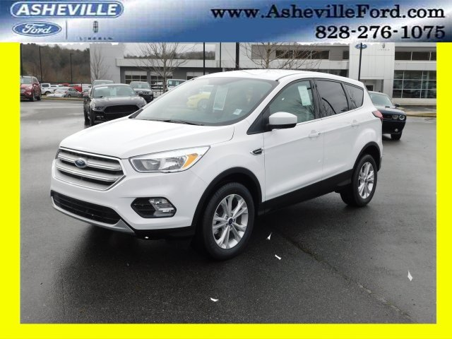 2019 Ford Escape SE EcoBoost 1.5L I4 GTDi DOHC Turbocharged VCT Engine 4 Door FWD SUV