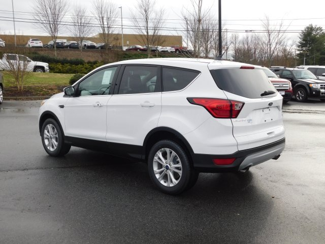 2019 Ford Escape SE Automatic 4 Door SUV EcoBoost 1.5L I4 GTDi DOHC Turbocharged VCT Engine