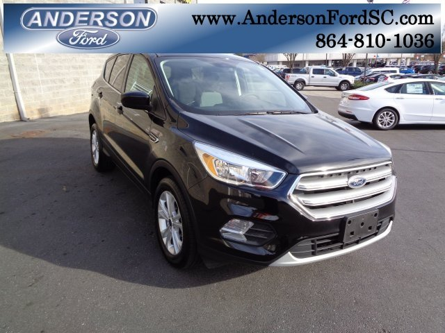 2017 Shadow Black Ford Escape SE Automatic EcoBoost 1.5L I4 GTDi DOHC Turbocharged VCT Engine 4 Door
