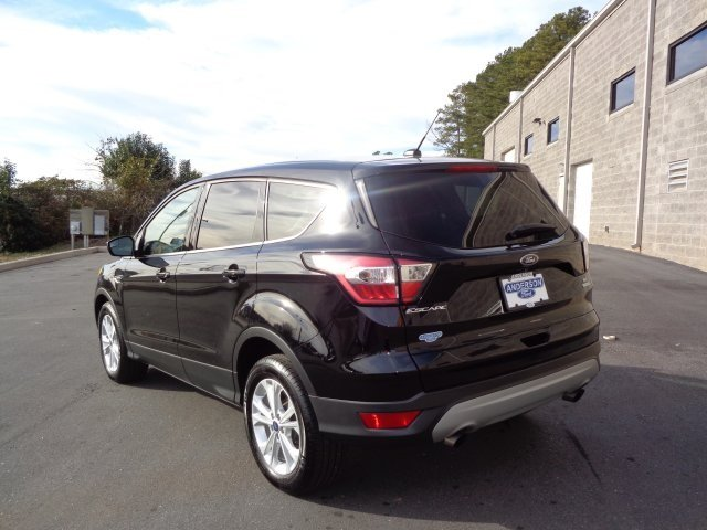 2017 Shadow Black Ford Escape SE EcoBoost 1.5L I4 GTDi DOHC Turbocharged VCT Engine Automatic 4 Door FWD SUV