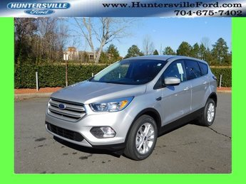 2019 Ingot Silver Metallic Ford Escape SE EcoBoost 1.5L I4 GTDi DOHC Turbocharged VCT Engine FWD Automatic SUV