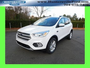 2019 Oxford White Ford Escape SEL SUV EcoBoost 1.5L I4 GTDi DOHC Turbocharged VCT Engine FWD 4 Door Automatic
