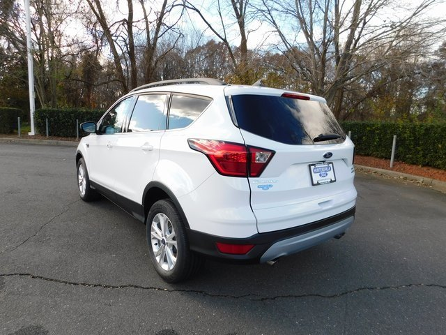 2019 Oxford White Ford Escape SEL EcoBoost 1.5L I4 GTDi DOHC Turbocharged VCT Engine 4 Door Automatic SUV