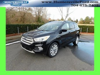 2019 Agate Black Metallic Ford Escape SEL SUV EcoBoost 1.5L I4 GTDi DOHC Turbocharged VCT Engine FWD Automatic