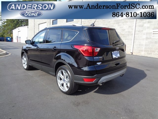 2019 Ford Escape Titanium SUV EcoBoost 2.0L I4 GTDi DOHC Turbocharged VCT Engine FWD Automatic 4 Door